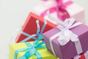 Geschenke und Prämien